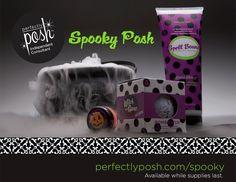 Spooky Posh for Halloween! www.perfectlyposh.us/1685
