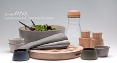 Gorgeous Avva Stoneware from Teroforma Dinnerware, Stoneware, Hacks, Tableware, Boutiques, Accessories, Products, Dinner Ware, Boutique Stores