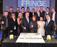 Fringe Team 100th episode celebration