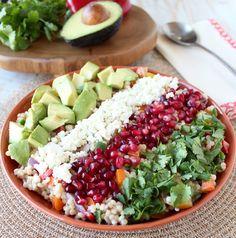 Couscous Avocado Salad Recipe