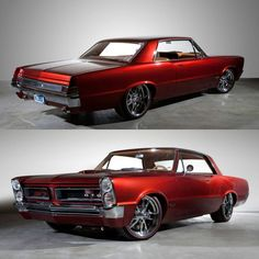 1965 Pontiac GTO custom by Kindig It Design. #Pontiac #GTO #MuscleCar #ClassicCarsWorld