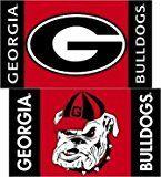 Georgia Bulldogs Car Flags