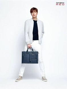 Lee Min Ho is chic and stylish in 'Samsonite Red' promotional photos | allkpop.com