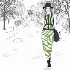Kelly Smith - Chic Fashion Illustrations by Kelly Smith  <3 <3