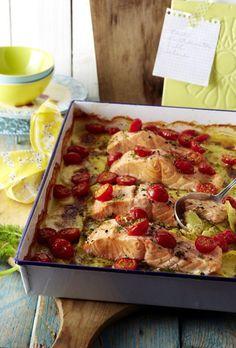 Unser beliebtes Rezept für Kartoffel- Lachs-Gratin mit Dillsahne und mehr als 55.000 weitere kostenlose Rezepte auf LECKER.de.