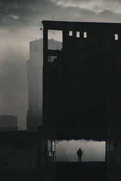 deadendqueen:In the morning fog by vtakac