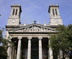Eglise Saint-Vincent de Paul, Paris, France