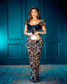 Nigerian Lace Styles, Aso Ebi Lace Styles, African Lace Styles, Lace Dress Styles, Kente Styles, African Wear Dresses, Latest African Fashion Dresses, African Print Fashion, African Attire