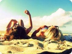 #bestfriends #beach #cute #sunny #summer