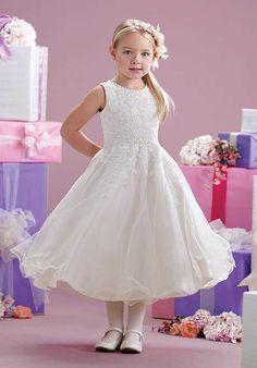 Joan Calabrese by Mon Cheri 215349 Flower Girl Dress