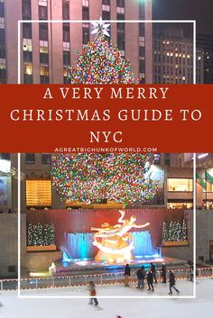 oatmeal A Very Merry Christmas Guide to New York City | www.agreatbighunkofworld.com | A Great Big Hunk of World