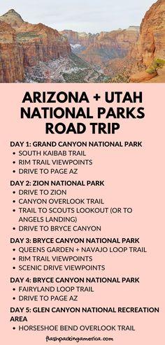 Pacific Coast Highway, West Coast Road Trip, Us Road Trip, Vacation Ideas, Vacation Spots, Utah Vacation, Grand Canyon Vacation, Family Vacations, Bryce Canyon