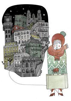 Amaia Arrazola illustration.