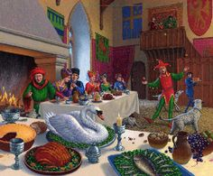 medieval feasting - Google Search