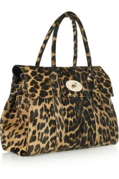 Mulberry leopard-bag.