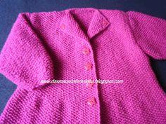 Das Mãos da Teresinha: tricô para criança