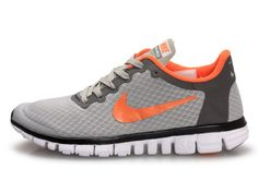 pretty nice 54f7e 8d0bd Chaussures Nike Free Blanc  Gris  Orange  Noir -   Nike Chaussure Pas Cher, Nike Blazer and Timerland