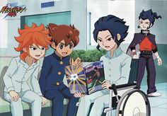 Anime, Inazuma Eleven, Official Art - A hospital scene