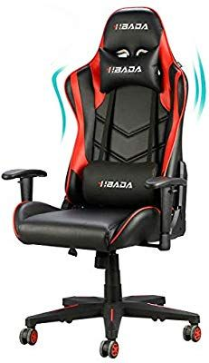 New Hbada Gaming Chair Racing Style Ergonomic High Back Computer Chair Height Adjustment, Headrest Lumbar Support E-Sports Swivel Chair, Red online shopping - Prettyclothingstyle - My Style - - E Sports, Swivel Office Chair, Ergonomic Office Chair, Chaise Gaming, Razer Gaming, Gamer Chair, Online Shopping, Sitting Positions, Chair Height
