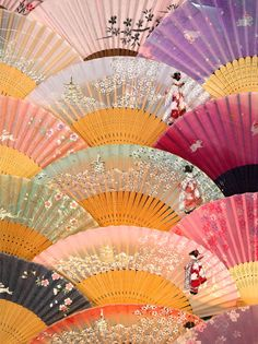 Japanese Sensu (fan) love colours and fantasies Japanese Design, Japanese Art, Hand Held Fan, Hand Fans, Chinese Fans, Art Asiatique, Thinking Day, Nihon, Japanese Culture