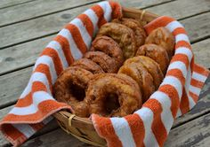 Pumpkin Spice Doughnuts Recipe {with Brown Sugar-Molasses Glaze}