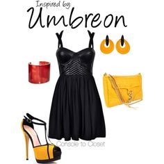 Umbreon (Pokemon Series) by ladysnip3r on Polyvore
