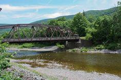Bridge in Town, Lexington, NY Catskill Mountains, Great Places, Bridge, Farmhouse, River, Sweet, Fun, Outdoor, Candy