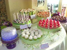 40th Birthday Mini Dessert Buffet & Cake