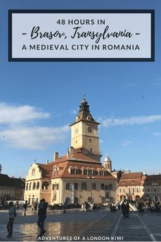 How to spend 48 hours in Brasov- a city in Romania that people often only spend an hour in. Travel to Transylvania.