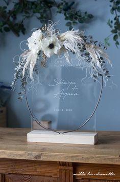 ユーカリ×ヘリクリサムのアクリルクリアウェルカムボード   Online store – ミルラシュエット Wedding Signs, Wedding Cards, Diy Wedding, Wedding Favors, Wedding Flowers, Dream Wedding, Wedding Decorations, Wedding Welcome Board, Foil Business Cards