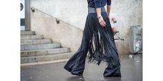 The Paris Way: Fashion Week Street Style  - I want these so bad!!!! HarpersBAZAAR.com