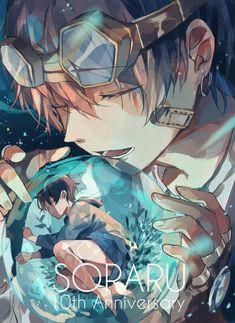 Anime Couples Asuka art from EVA Gato Anime, Chica Anime Manga, Anime Chibi, Cute Anime Guys, I Love Anime, Otaku, Anime Artwork, Boy Art, Vocaloid