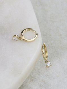 Diamond Earrings / Diamond Studs in Gold / Evil Eye Diamond Earrings / Evil Eye Jewelry / Gold Jewelry / Gift for Her - Fine Jewelry Ideas 14k Gold Jewelry, Luxury Jewelry, Diamond Jewelry, Pearl Jewelry, Swarovski Jewelry, Turquoise Jewelry, Jewelry Gifts, Jewelry Accessories, Fine Jewelry