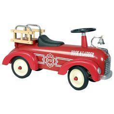 Brandweer loopauto