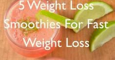 Healthy, Fast & Easy Weight Loss: 5 Weight Loss Smoothies