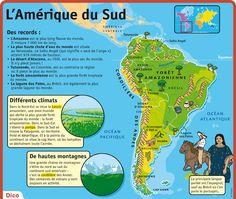 Fiche exposés : L'Amérique du Sud