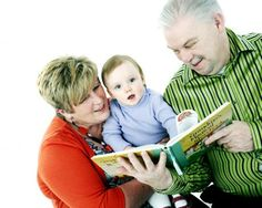 This Is Lancashire: sharing her story: Susan Unsworth with Ken and grand daughter Martha Rose, three