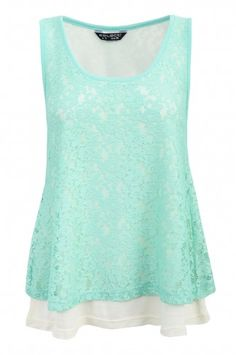 Double Layered Lace
