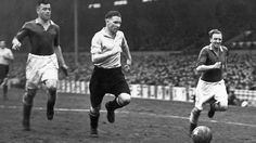 Bill Nicholson Playing Against Leicester City in April 1947 | Tottenham Hotspur Football Club
