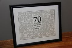Sometimes Creative 70th Birthday Gift Ideas For Mom 90th Parties