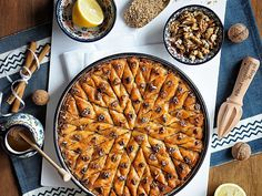 Baklava Foto: All Bulgarian Recipes, Bulgarian Food, Grill Pan, Apple Pie, Grilling, Baking, Kitchen, Persian, Blog