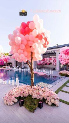 Birthday Goals, 21st Birthday, Birthday Parties, Balloon Decorations, Birthday Party Decorations, Wedding Decorations, Graduation Party Desserts, Deco Baby Shower, 21st Party