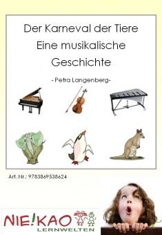 ideenreise arbeitsheft zum karneval der tiere von camille s musik teaching music. Black Bedroom Furniture Sets. Home Design Ideas