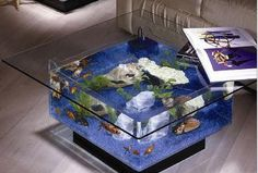All about Aquarium in brief; An aquarium is a nice addition to decorate your home. The design of the aquarium, the plants and the colors of the fish of your aquarium a true centerpiece. Table Aquarium, Aquarium Mural, Aquarium Design, Aquarium Fish, Aquarium Stand, Acrylic Aquarium, Glass Aquarium, Aquarium Lighting, Fish Tank Table