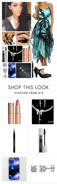 """Andrea Russett - Easter Outfit"" by ashley-oakfire ❤ liked on Polyvore featuring It Cosmetics, Charlotte Tilbury, Givenchy, Christian Dior and BERRICLE"