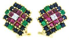 Genuine Diamond 18K Yellow Gold Multi Gemstone Earrings [... https://www.amazon.com/dp/B00CKIDLII/ref=cm_sw_r_pi_dp_mvGCxbBSWWRT1