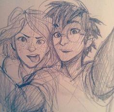 Ginny & Harry - Burdge Bug