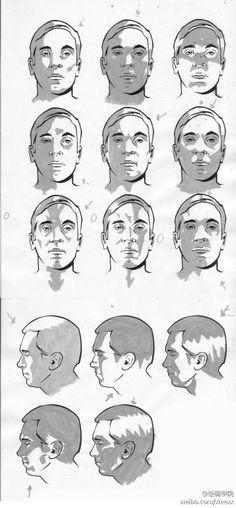 63 best planes of the face images on pinterest drawing techniques