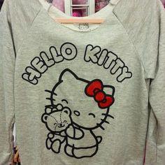 Hello Kitty hugs sweatshirt! Love for Hello Kitty forever! By Mighty fine $96.00 exclusive. #hellokitty #sanrio #hellokittyhugs # hk40 #hellokittycon #hkconfans #hellokittyfans #hellokittylimitededtion #hellokittytrendy #mightyfine #sanrioarcadia @mightyfine #westfieldarcadia