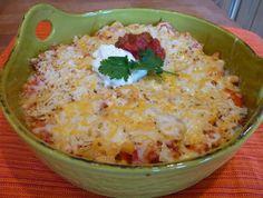 Nacho Chicken Casserole | AllFreeCasseroleRecipes.com